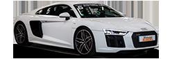 Photo détourée Audi R8 V10 Motorsport Academy
