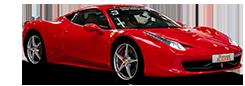 Photo détourée Ferrari 458 Italia Motorsport Academy