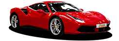 Photo détourée Ferrari 488 GTB