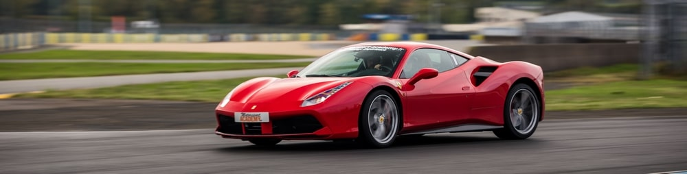 Ferrari 488 GTB Le Mans Pilotage