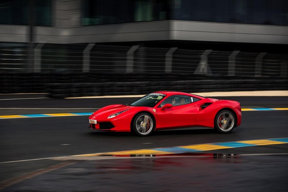Ferrari 488 GTB Le Mans Pilotage sur Circuit
