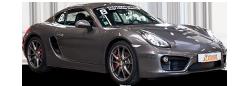Photo détourée Porsche Cayman S Motorsport Academy