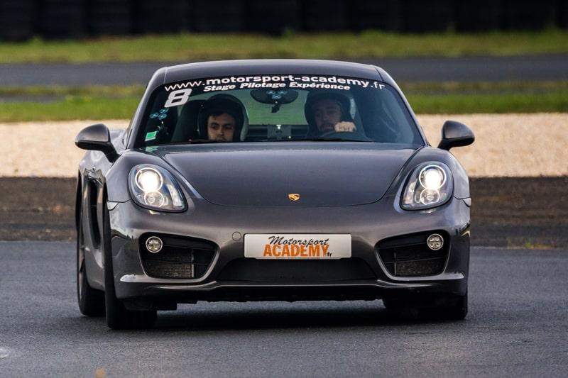Porsche Cayman S Stagiaire & Pilote au Mans