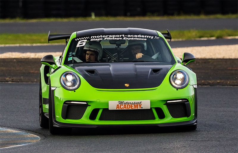 Porsche GT3 RS Verte au Mans