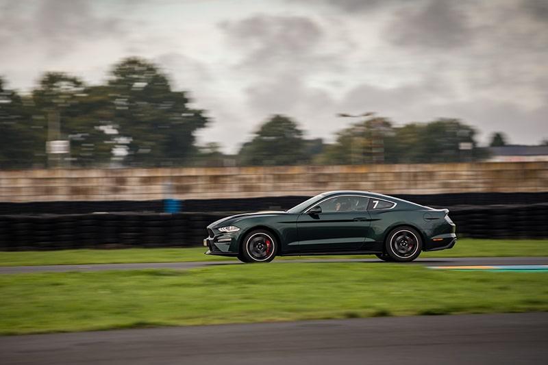 Ford Mustang Bullit En Mouvement Circuit du Mans