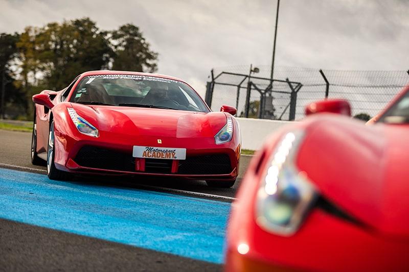 Ferrari 458 Italia & Ferrari 488 GTB au Mans